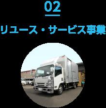 02 リユース・サービス事業
